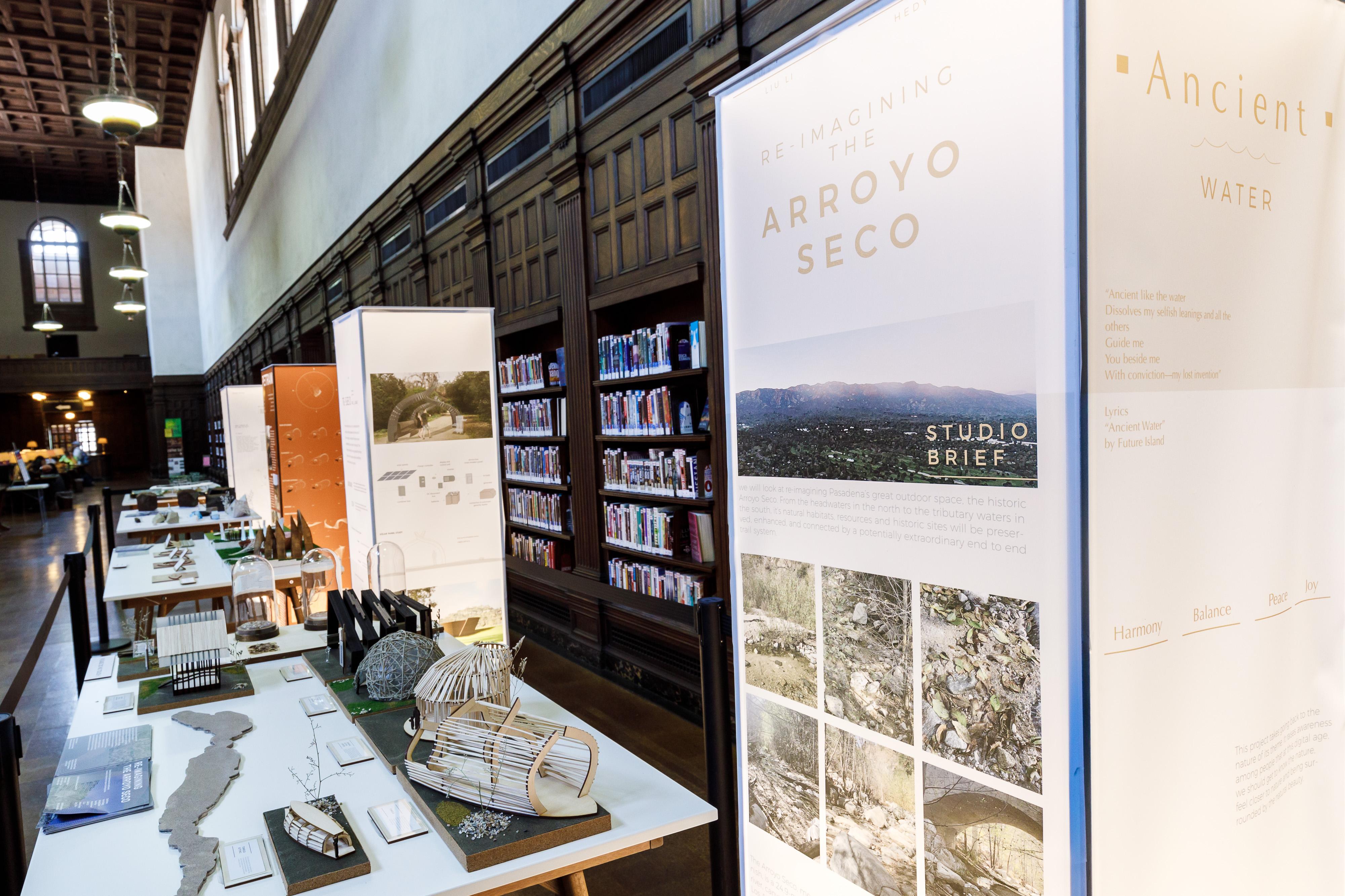 "Photo of ""Reimagining The Arroyo Seco"" exhibit at Pasadena"