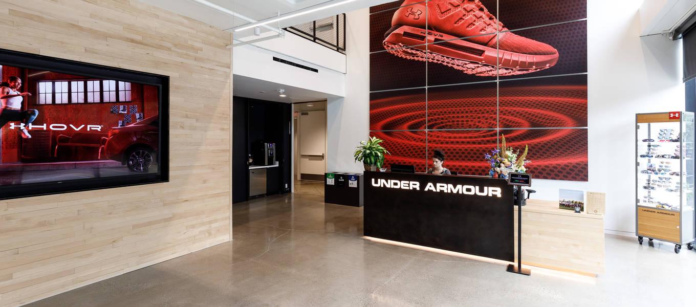 Under Armour Main Lobby