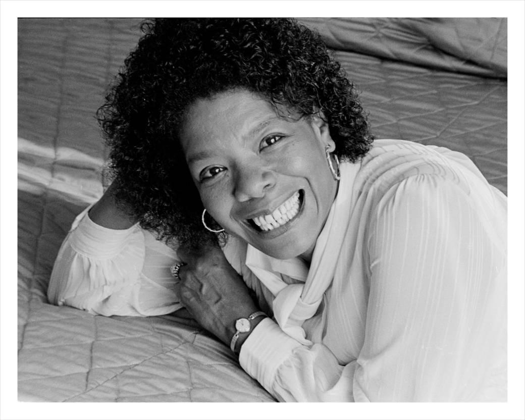 Maya Angelou photographed by Barbara Dumetz