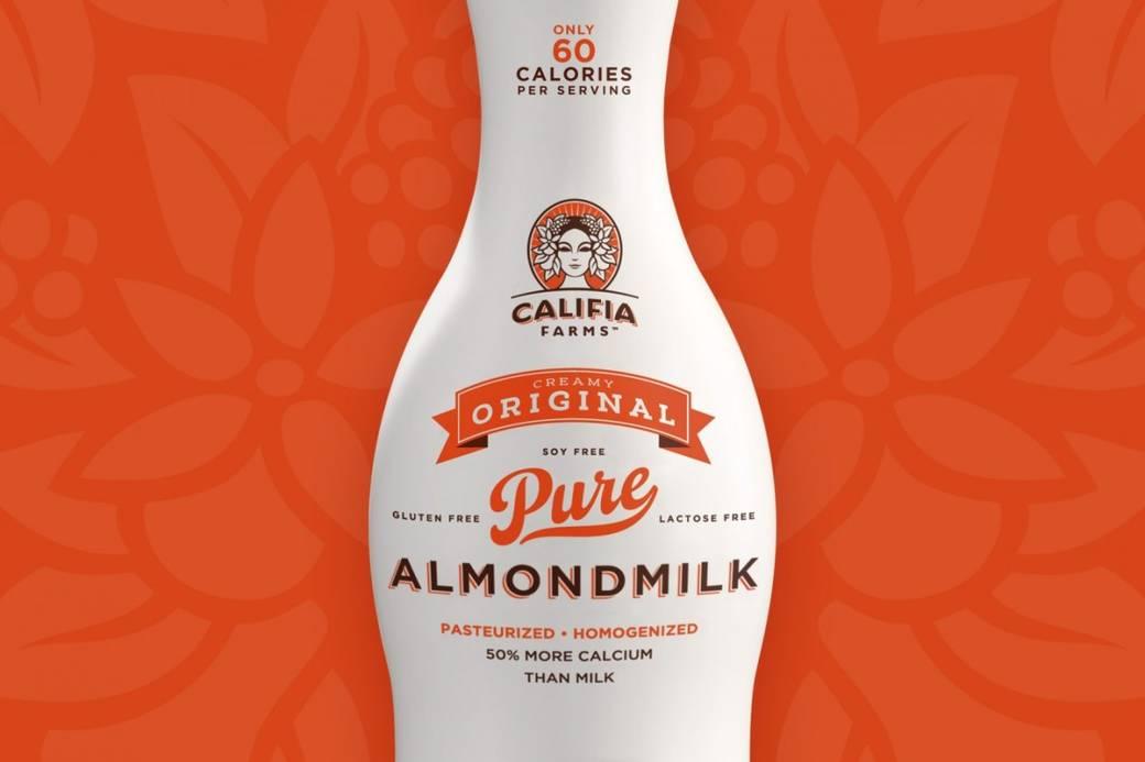 Califa Almondmilk package design
