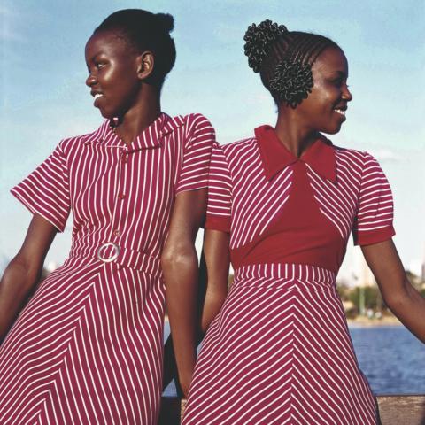 /Priya Ramrakha, Fashion shoot for Raymonds clothing, Nairobi, Kenya, 1967. © Priya Ramrakha.