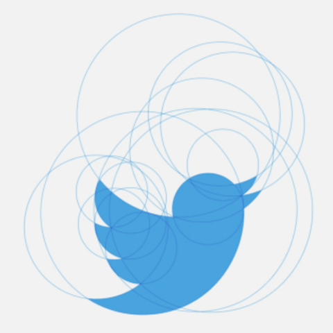 /twitter logo progression (Martin Glasser via Fast Company)