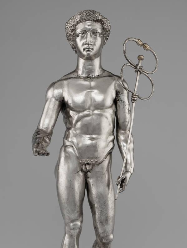 Mercury, Roman, A.D. 175–225; collection (and image courtesy of): Bibliothèque nationale de France, Département des monnaies, médailles et antiques, Paris