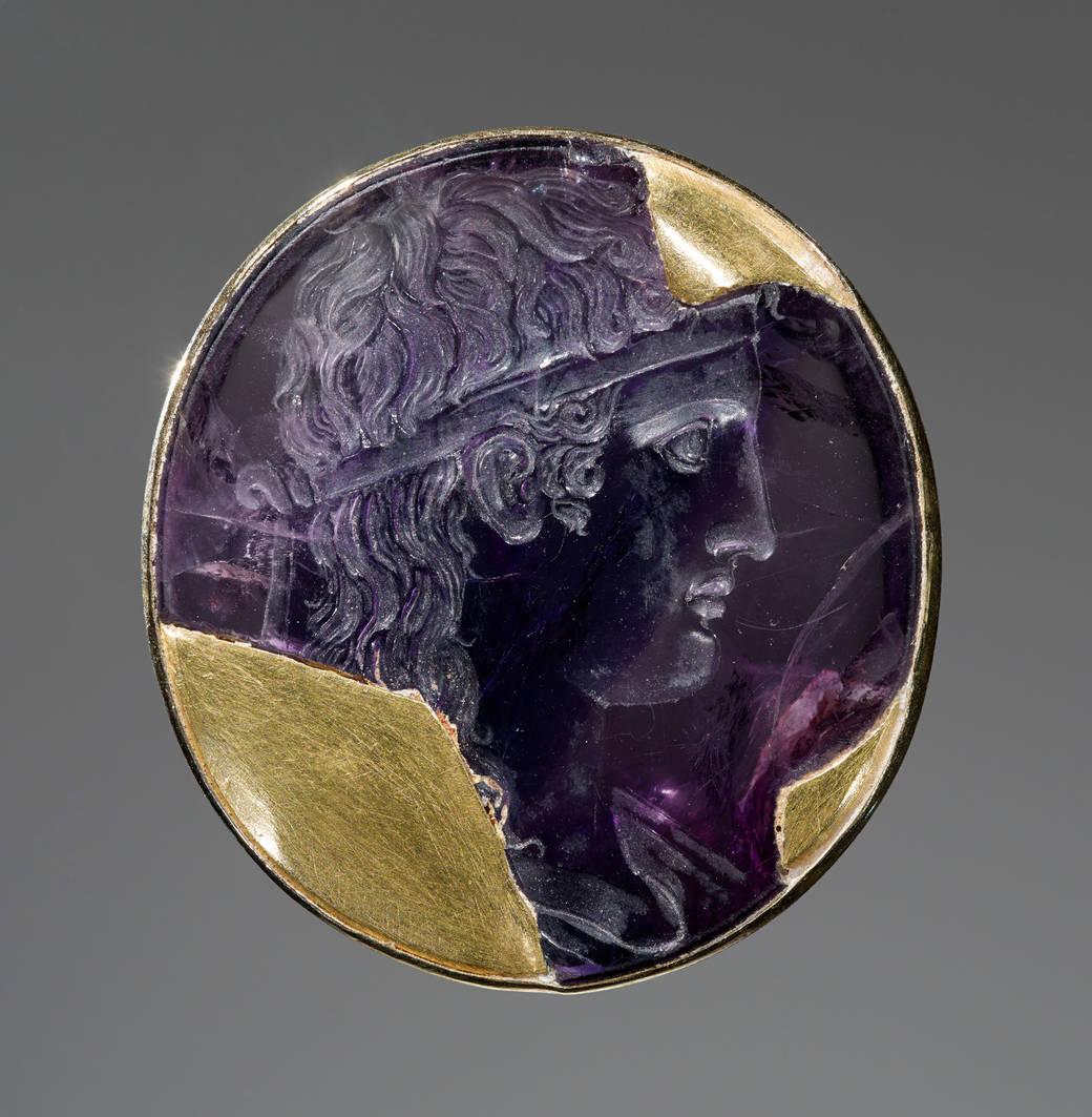 Engraved Gem with Apollo, Roman, 30–20 B.C.