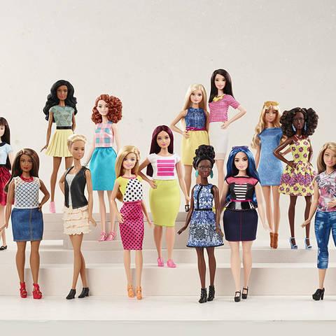 /Barbie Fashionista dolls (Via Hollywood Reporter Courtesy of Hulu)