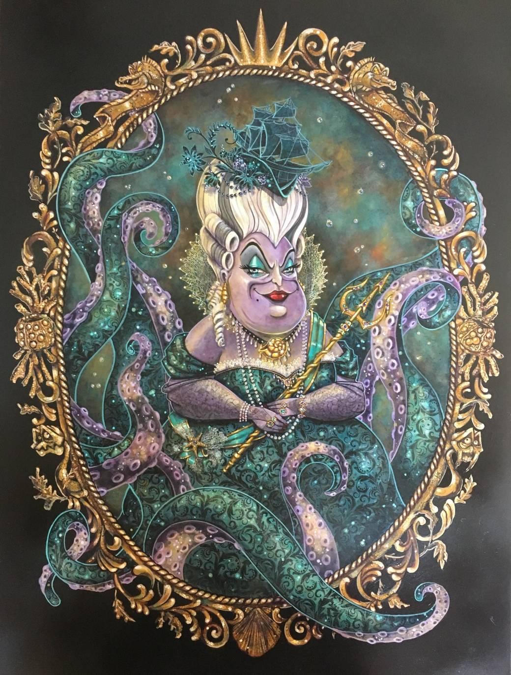 Ursula portrait by John Coulter