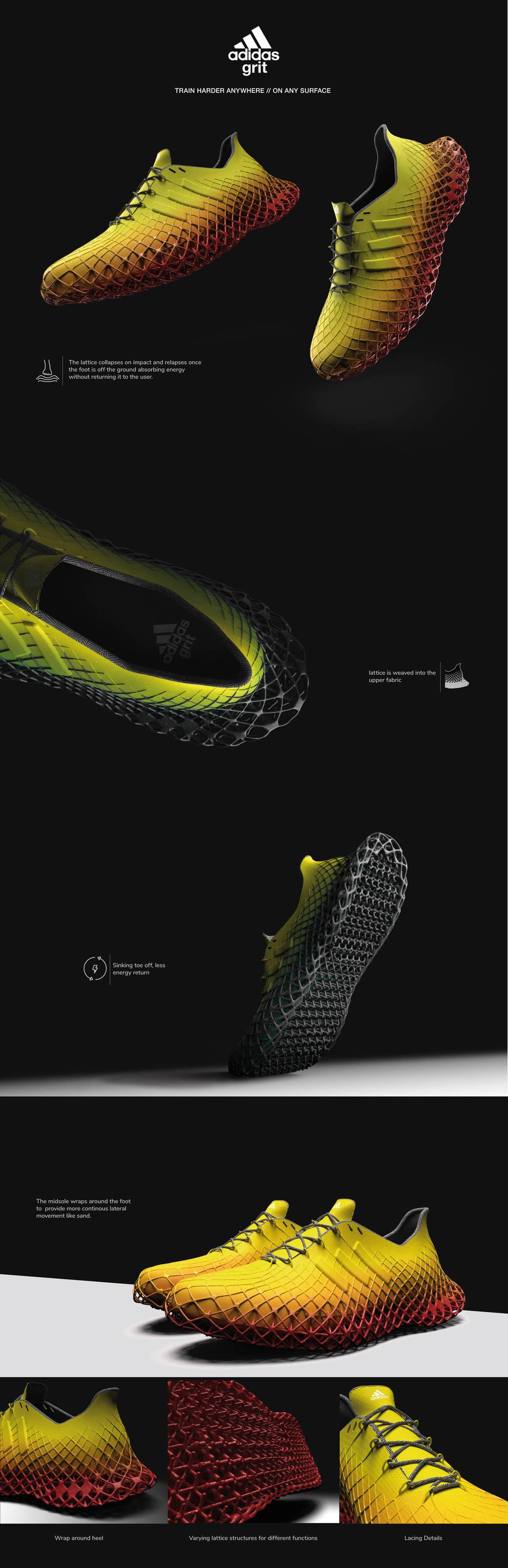 shoe design by Aarish Netarwala