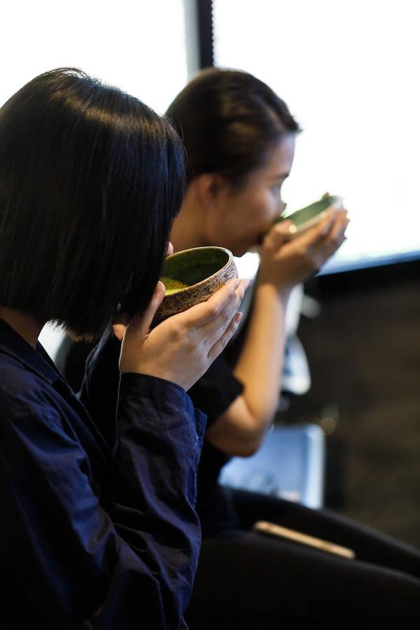 Misonodana Japanese tea ceremony performed by the Chado Urasenke Osaka Association