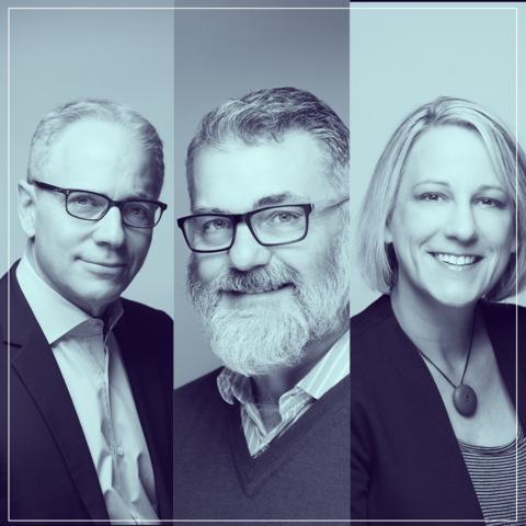 Loren Buchman, Rich Haluschak, Karen Hofmann