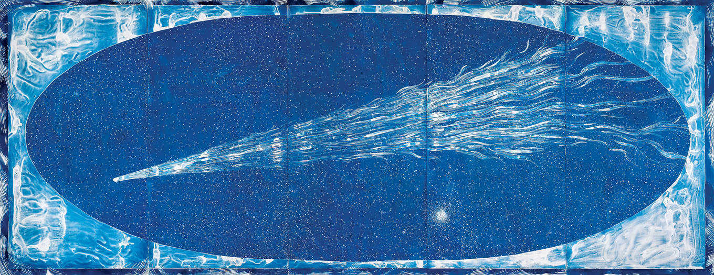 Lia Halloran. The Great Comet, 2019. Courtesy of the artist and Luis De Jesus Los Angeles