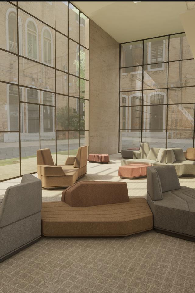 Interior space design by Elissa Gee