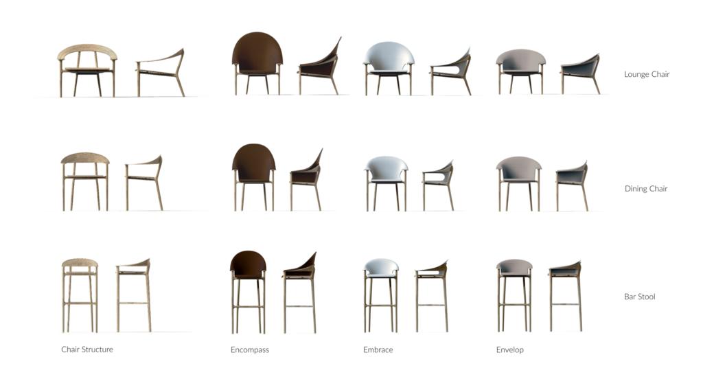 Enliven Furniture Collection by Jordyn Aamot