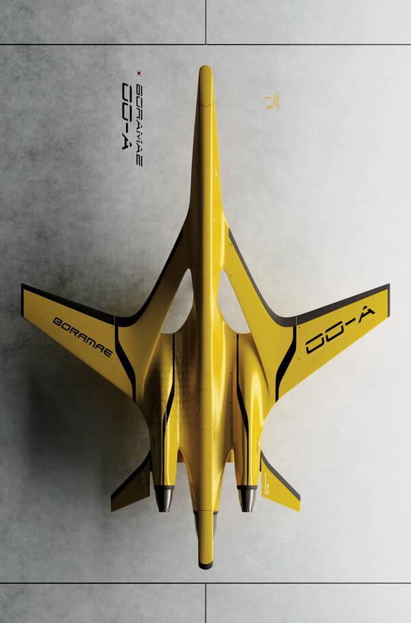 Boramae 00-A concept by Sang Won Lee, 2021.