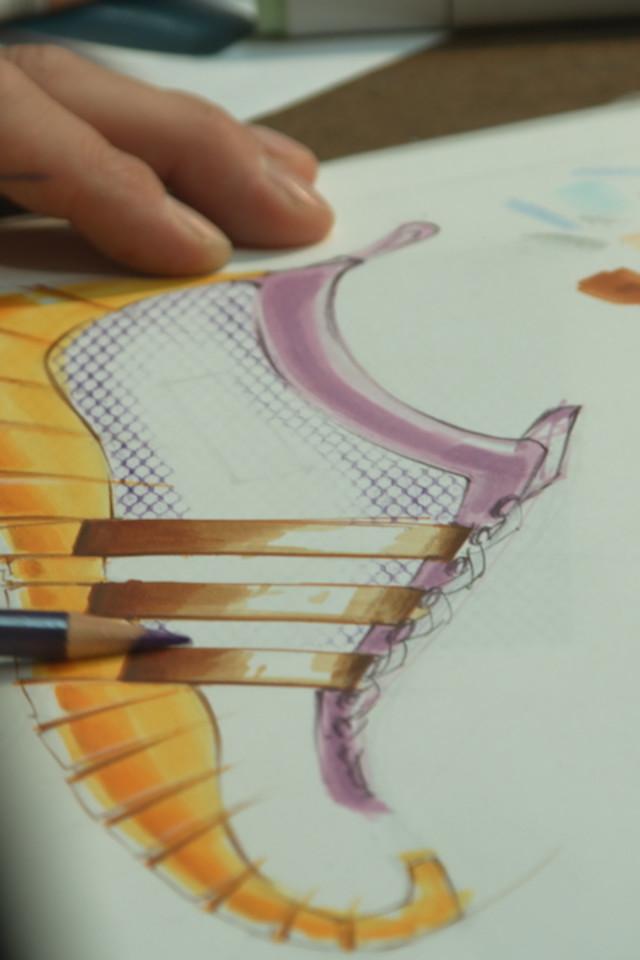 drawing a shoe