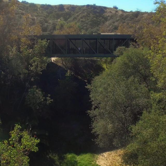 Still image of the bridge at ArtCenter