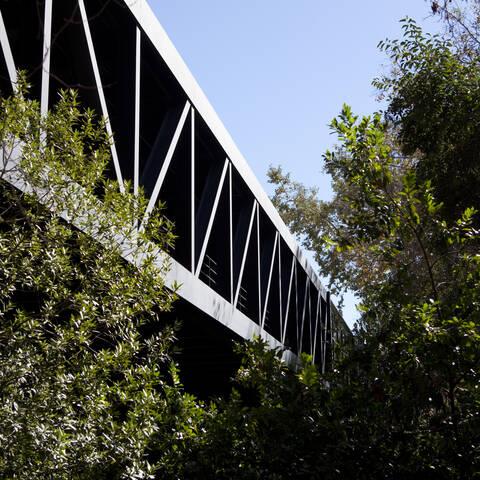Hillside campus bridge