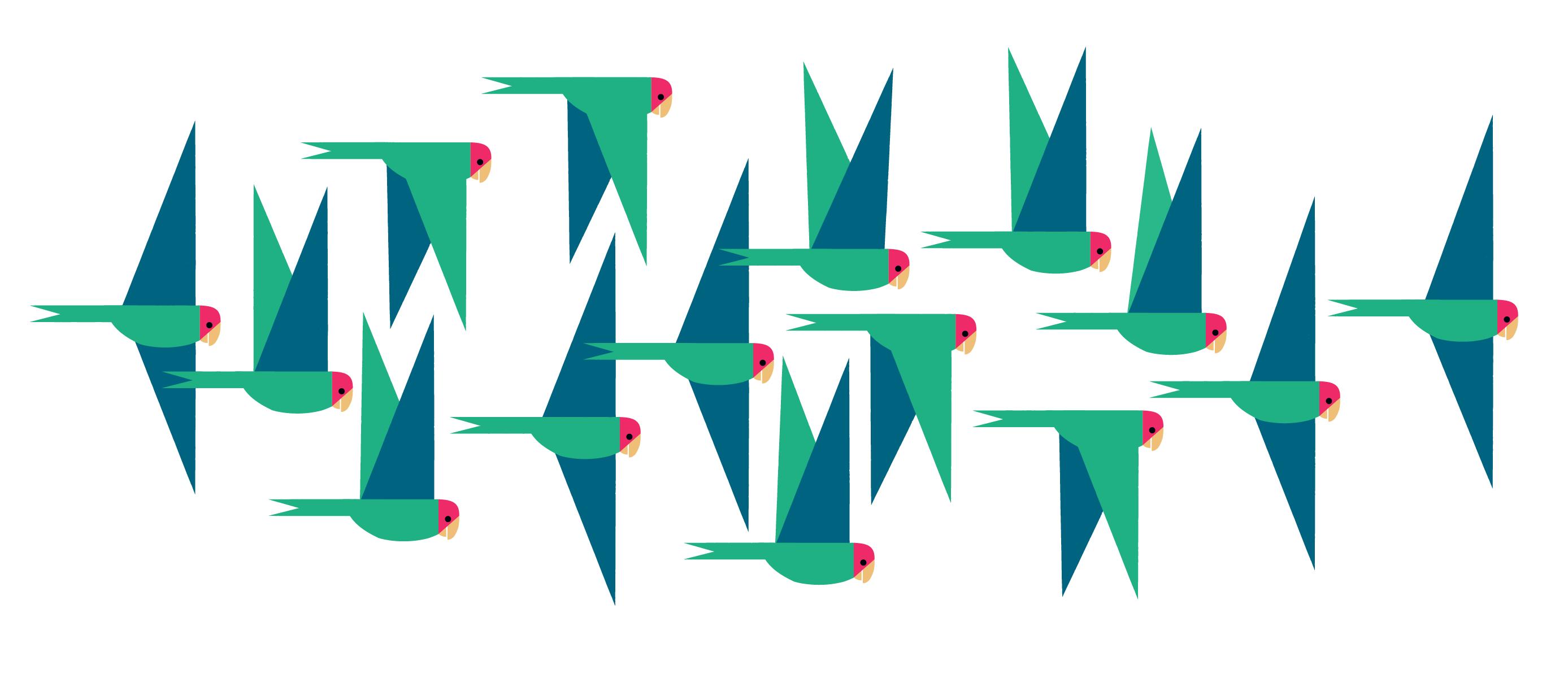 Green-Parrots-by-Alexander-Vidal-mug-01.png