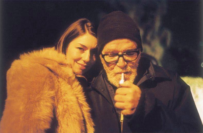 Photo of Sophia Coppola with Paul Jasmin